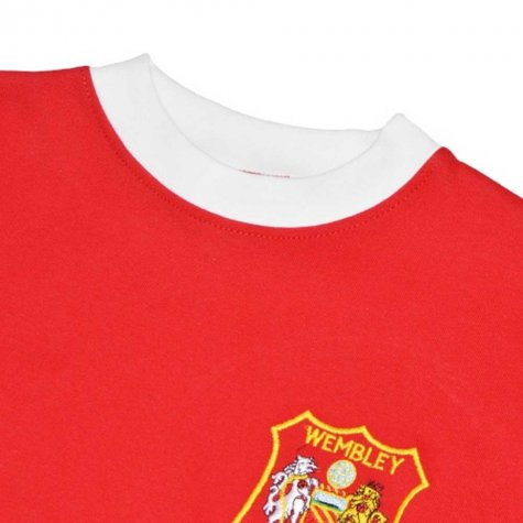Manchester United 1963 FA Cup Dennis Law 10 Retro Football Shirt