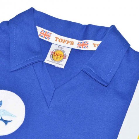 Cardiff City 1975-1977 Retro Football Shirt