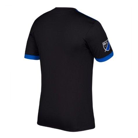2018 San Jose Earthquakes Adidas Home Football Shirt