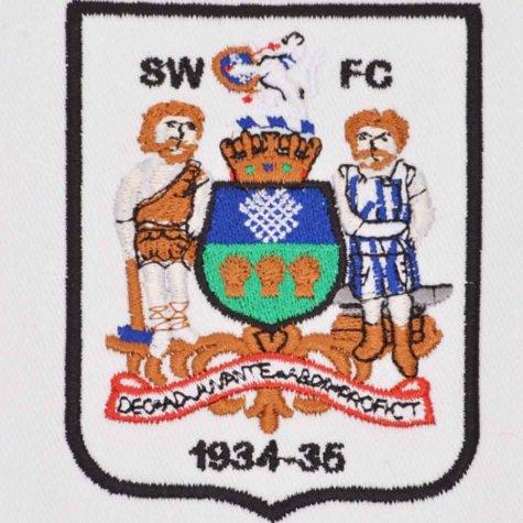 Sheffield Wednesday 1935 FA Cup Winners Retro Football Shirt