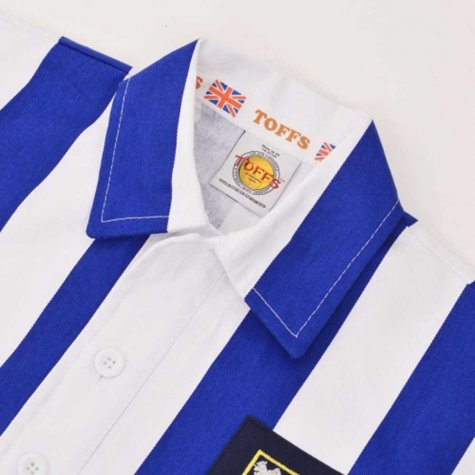 Sheffield Wednesday 1940-1950 Retro Football Shirt