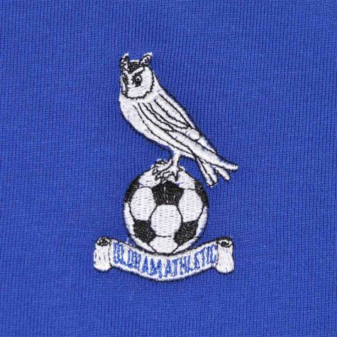 Oldham Athletic 1970s Retro Football Shirt