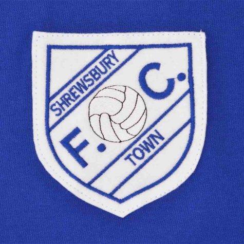 Shrewsbury Town 1960s Retro Football Shirt