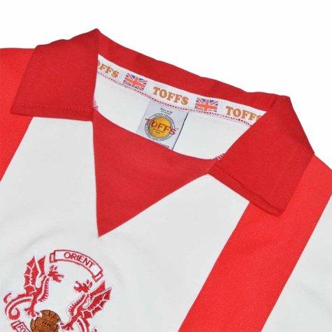 Leyton Orient 1978-1980 Retro Football Shirt
