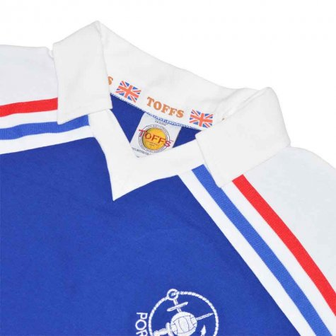 Portsmouth 1980-1982 Home Retro Football Shirt