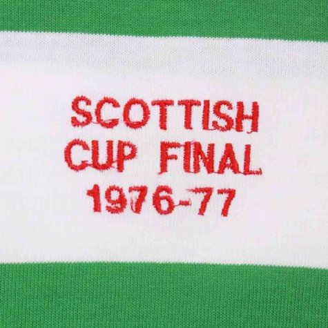 Celtic 1976-1977 Scottish Cup Final Retro Football Shirt