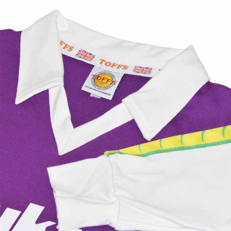 Hibernian 1977-1978 Away Bukta Retro Football Shirt