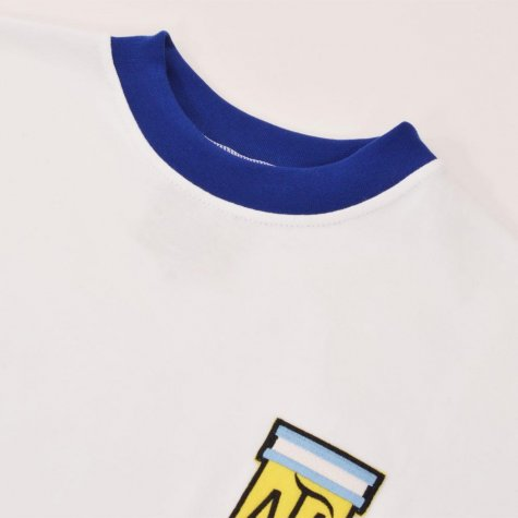 Argentina 1980s Away Retro Football Shirt