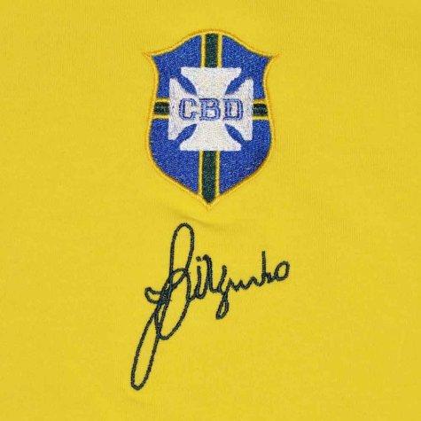 Brazil 1970 World Cup Jarzinho Retro Football Shirt