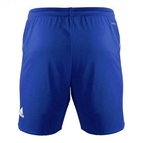 2017-2018 Schalke Adidas Away Shorts (Blue) - Kids
