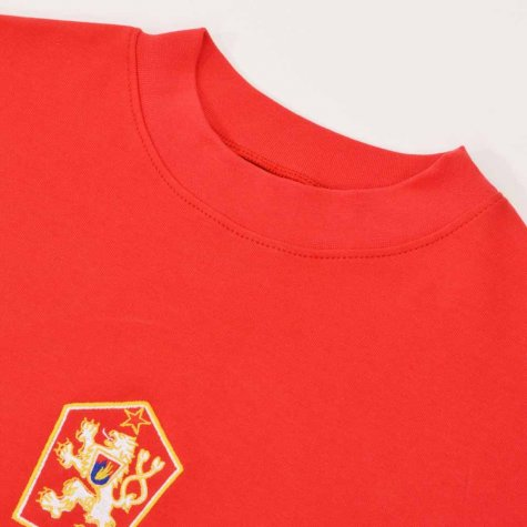 Czechoslovakia 1976 European Champions Retro Football Shirt
