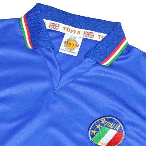 Italy 1990 World Cup Home Retro Football Shirt