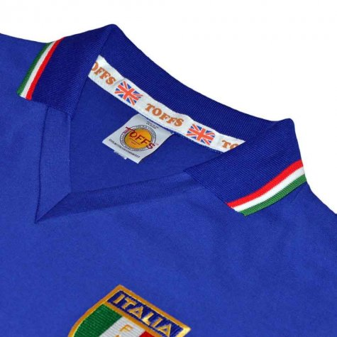 Italy 1982 World Cup Winners Retro Football Shirt
