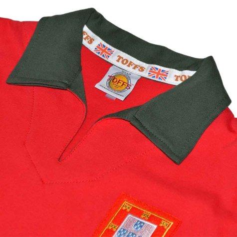 Portugal 1960s Retro Football Shirt