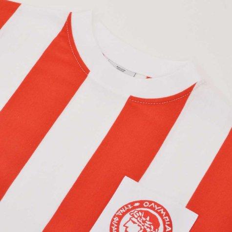 Olympiakos 1970s Retro Football Shirt