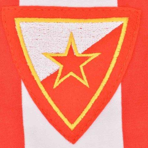 Red Star Belgrade 1960s Retro Football Shirt