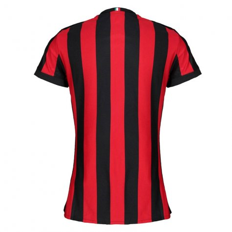 2017-2018 AC Milan Womens Home Shirt (Pirlo 21)