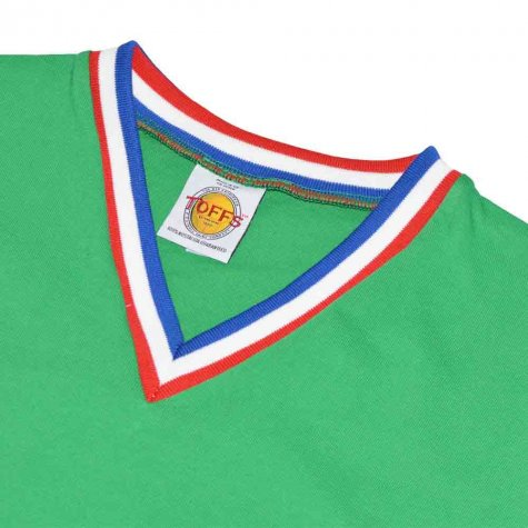 St Etienne Short Sleeve Retro Football Shirt