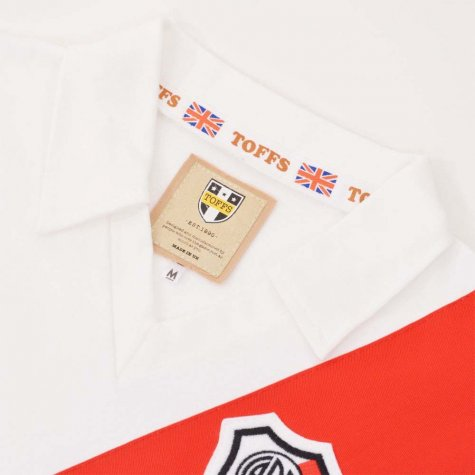Riverplate 1960s-1970s Retro Football Shirt