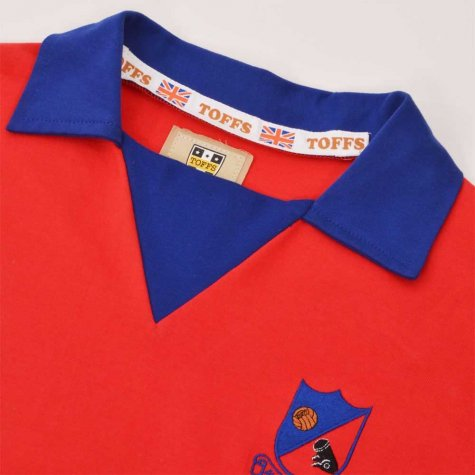 Aldershot Town 1970s Retro Football Shirt
