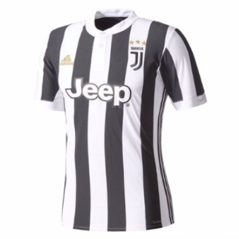 2017-18 Juventus Home Shirt (Asamoah 22) - Kids