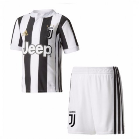 2017-18 Juventus Home Mini Kit (Mandzukic 17)