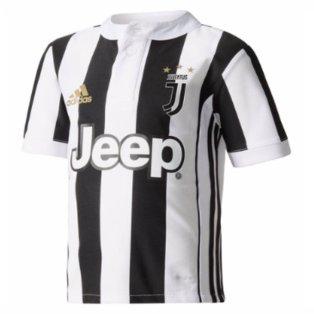 cheaper 2e8e8 9ba66 2017-2018 Juventus Adidas Home Mini Kit