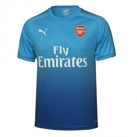 2017-2018 Arsenal Away Shirt (Mustafi 20) - Kids