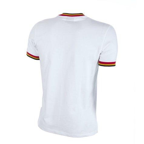Belgium Away 1970's Short Sleeve Retro Football Shirt