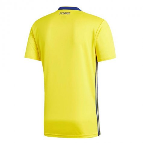 2018-19 Sweden Home Shirt (Olsson 5) - Kids