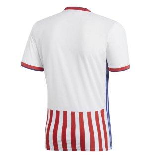 2018-2019 Paraguay Home Adidas Football Shirt [BQ4501] - Uksoccershop