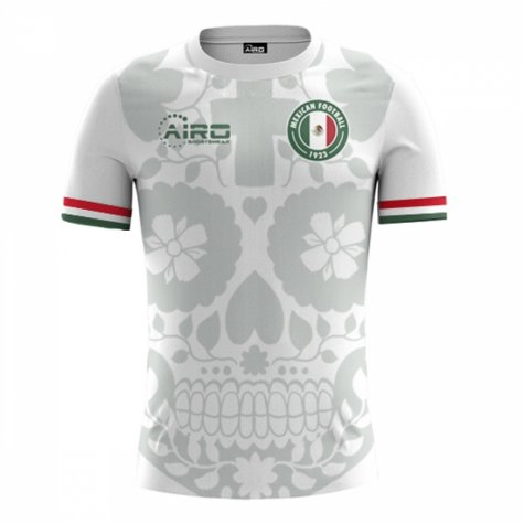 2020-2021 Mexico Away Concept Football Shirt (H Moreno 15) - Kids