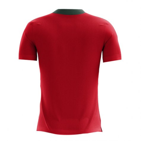 2020-2021 Portugal Airo Concept Home Shirt (Eusebio 13) - Kids