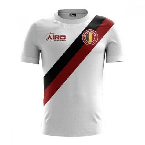 2018-2019 Belgium Away Concept Football Shirt (Alderweireld 2)