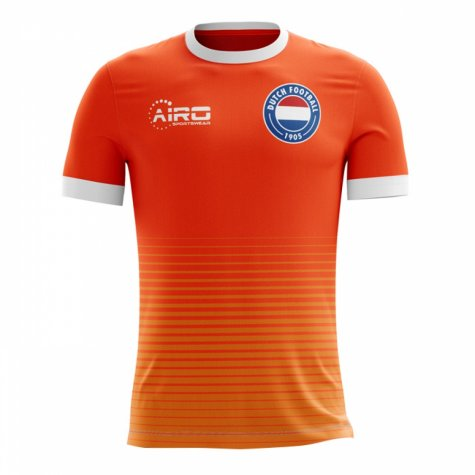 2018-19 Holland Airo Concept Home Shirt (Rijkaard 8) - Kids
