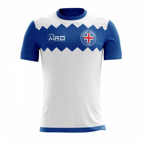 2018-19 Iceland Airo Concept Away Shirt (Gudmundsson 7) - Kids