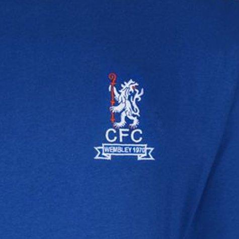 Score Draw Chelsea 1970 Wembley Long Sleeve Home Shirt