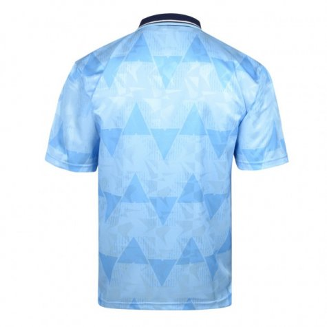 Score Draw Manchester City 1989 Home Shirt