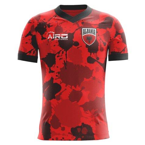 2018-19 Albania Airo Concept Home Shirt (Hysaj 4)