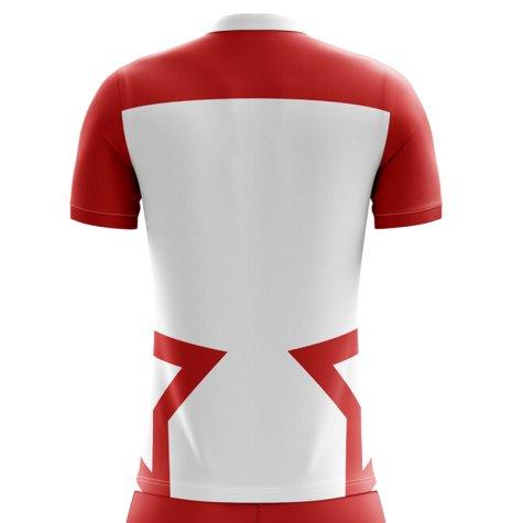 2020-2021 Tunisia Home Concept Football Shirt