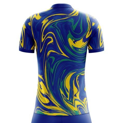 2020-2021 Brazil Away Concept Shirt (Willian 19)