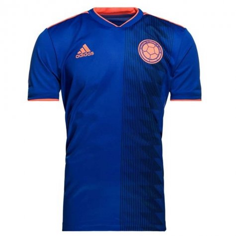 2018-2019 Colombia Away Adidas Football Shirt (James 10) - Kids
