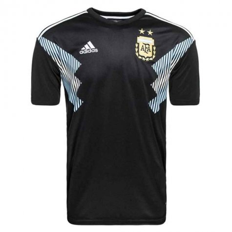 2018-2019 Argentina Away Adidas Football Shirt (Batistuta 9)