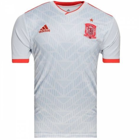 2018-2019 Spain Away Adidas Football Shirt (Sergio Ramos 15) - Kids