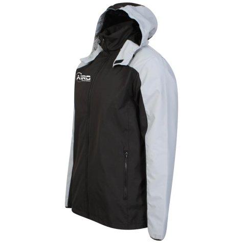 Airo Sportswear Tracktop (Black-Silver)