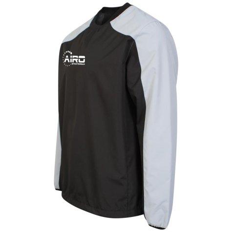 Airo Sportswear Pro Windbreaker (Navy-Silver)