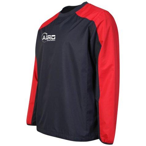 Airo Sportswear Pro Windbreaker (Navy-Red)