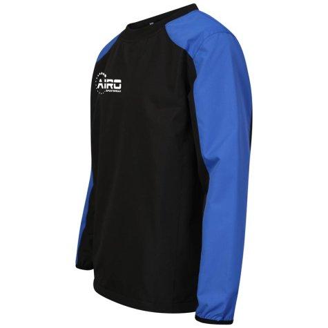 Airo Sportswear Pro Windbreaker (Black-Royal)