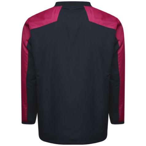 Airo Sportswear Pro Windbreaker (Black-Maroon)