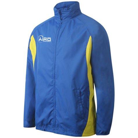 Airo Sportswear Tracksuit Top (Royal Yellow)